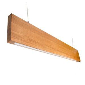 led светильники в деревянном корпусе