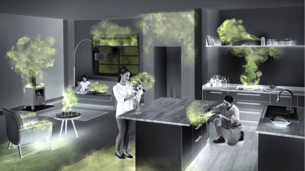 качество воздуха в помещении летучие органические соединения