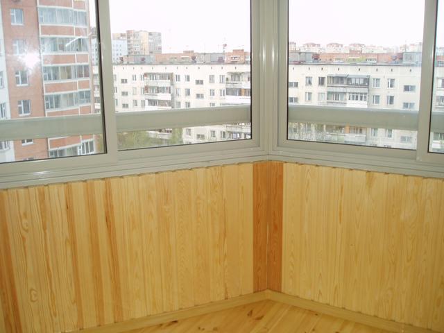 балкон чем лучше обшить