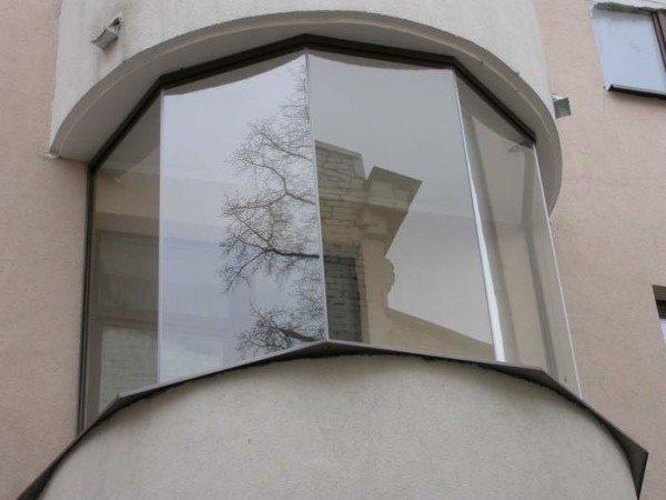 балкон панорамный
