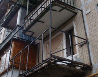 Расширить балкон - как расширить балкон, на сколько 18