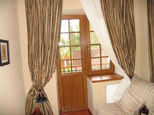 балконные деревянные двери