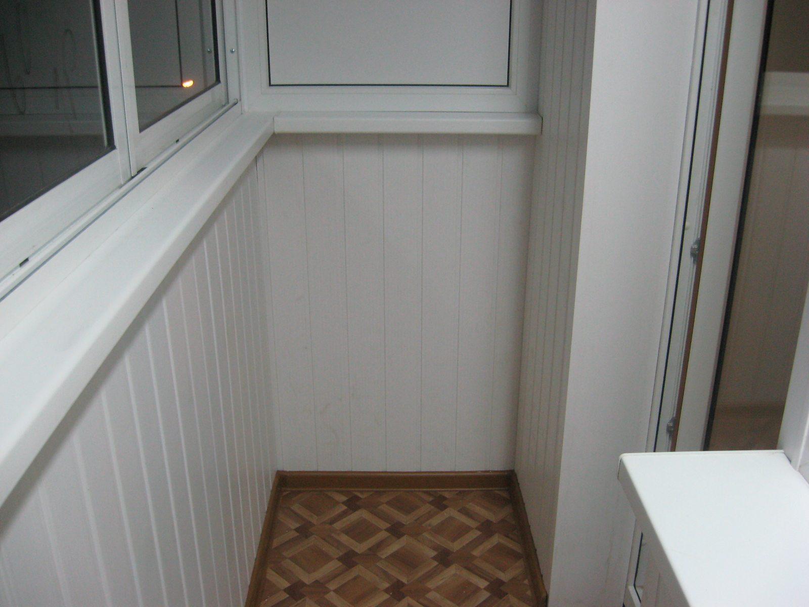 балконы отделка