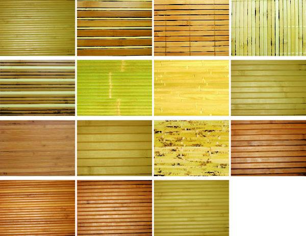 Бамбуковые панели различаются не только цветом, но и шириной ламелей