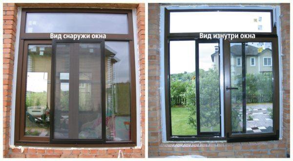 Для открывания не нужно свободное пространство ни внутри, ни снаружи