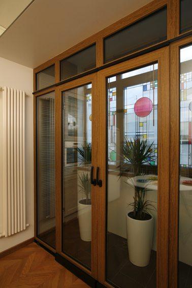двери раздвижные балконные