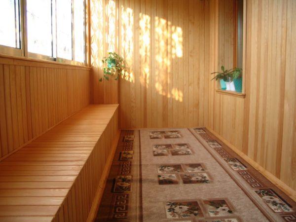 Экологичность – одно из основных достоинств деревянной отделки