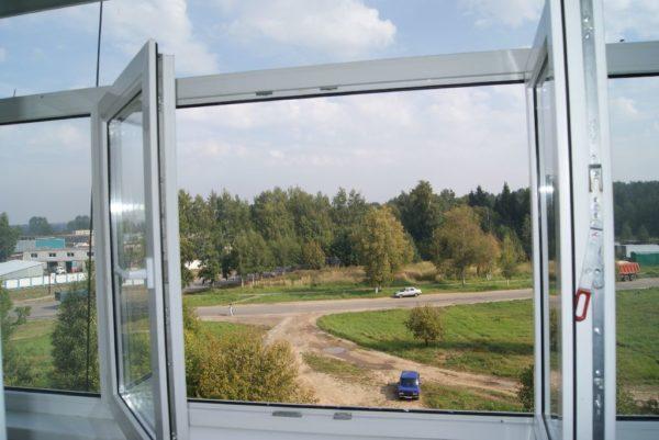 Фото вида из окна без импоста