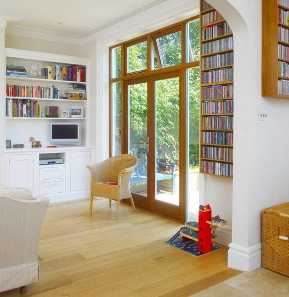 Французское окно в современном интерьере