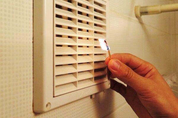качество воздуха в помещении плохая вентиляция