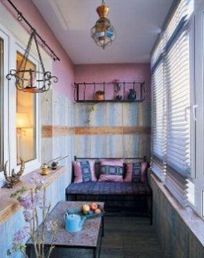 комната из балкона