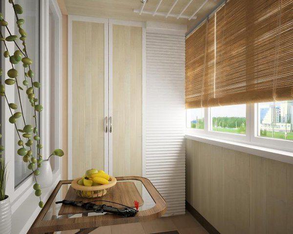 красиво и правильно сделанный шкаф на балконе – решит проблемы эстетического оформления