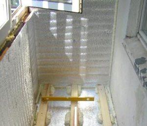 материалы для утепления балкона