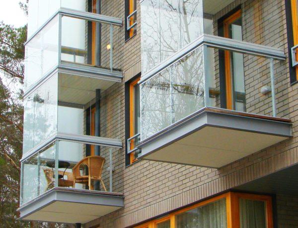 На таком балконе не захочется копить хлам
