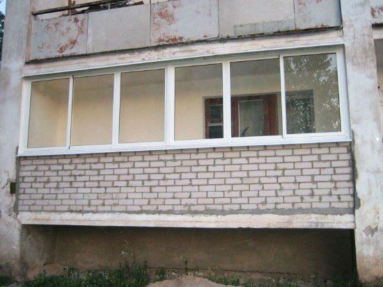 Несущая способность лоджии в 2 раза выше, чем у балкона.