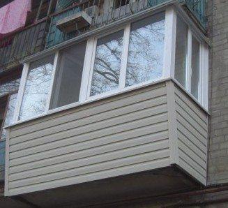 обделка балкона