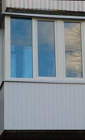 обшивка балкона своими руками вагонкой