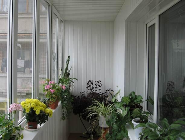 остекление балкона и отделка