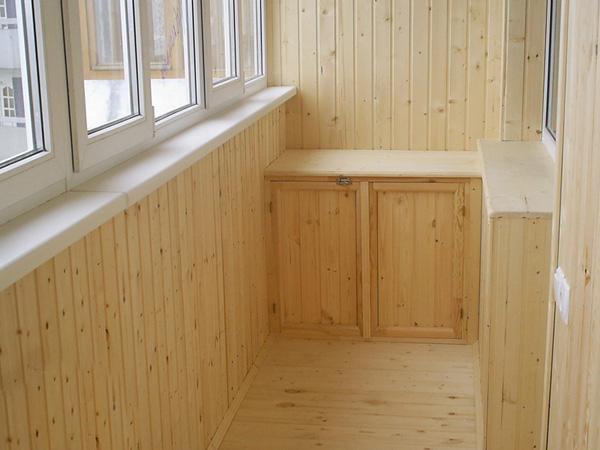 остекление балконов и отделка