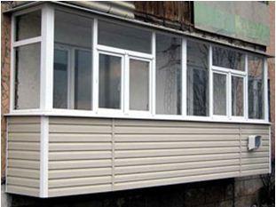 отделка балконов лоджий