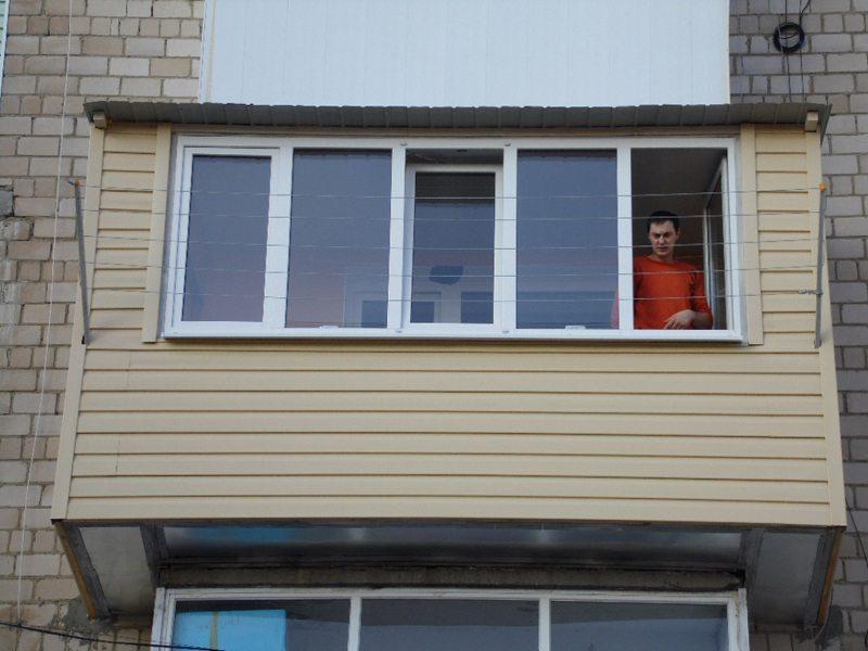 переделка балкона в комнату