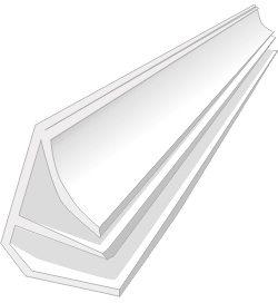плинтус, может использоваться, как на потолке, так и на полу