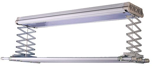 Потолочная электросушилка с ультрафиолетовой лампой – объявление войны бактериям