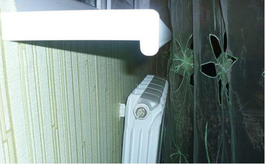 Правильное размещение батареи отопления под подоконником