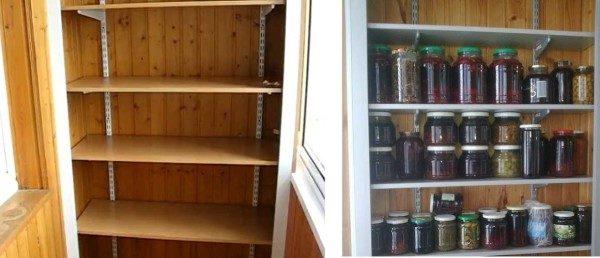 Простой и удобный шкаф на основе складских стеллажей будет хорошим подспорьем в хозяйстве.