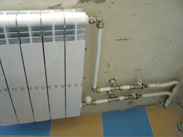 радиатор на лоджии