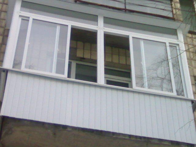 раздвижные балконные окна