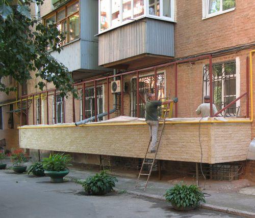 разрешение на постройку балкона