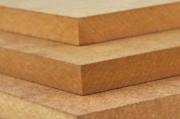 Структура МДФ напоминает картон