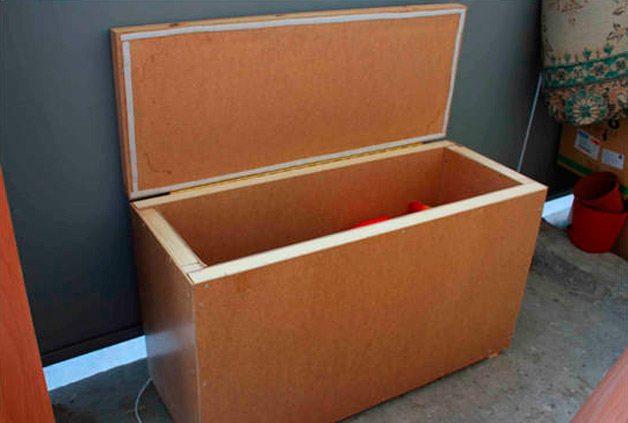 ящик для хранения на балконе купить