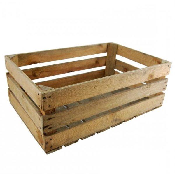 Такой ящик для овощей и фруктов можно сделать буквально за полчаса