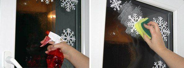 украшение балкона на новый год