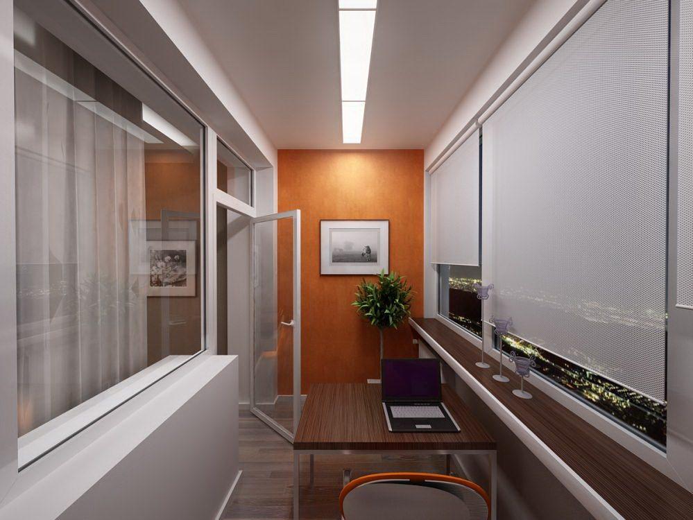 умственный труд требует уединения в располагающем к этому кабинете: компьютерный столик, модные и ненавязчивые светильники