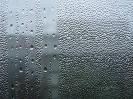 Вид запотевшего стекла
