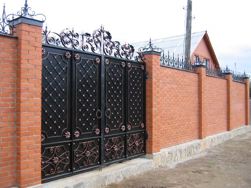 ворота. Художественная сварка