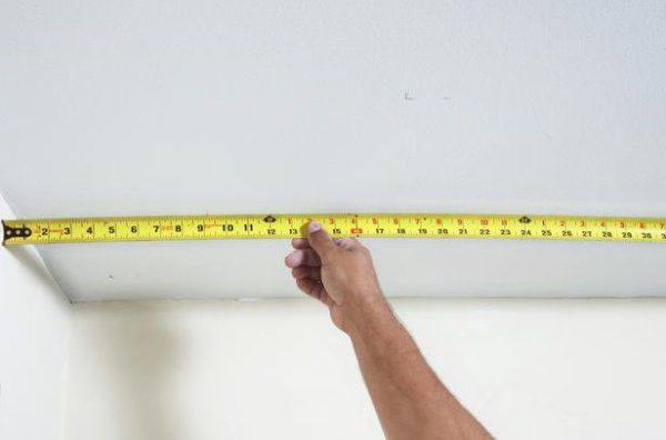 Всегда проверяйте размеры, цифры в проекте могут отличаться от реальных показателей