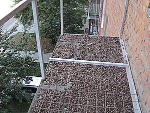 замена плиты балкона