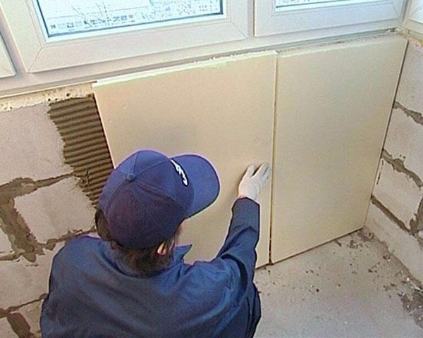 Утеплитель для балкона и лоджии: 5 способов произвести тепло.