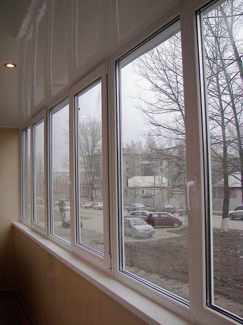 балкон теплый