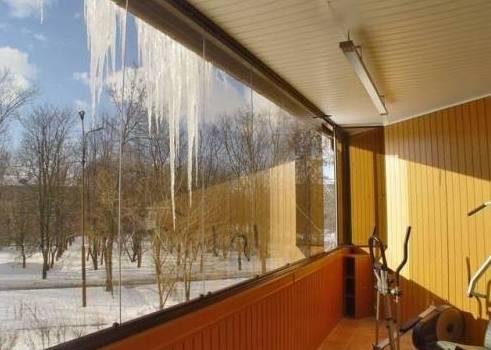 балкон застекленный