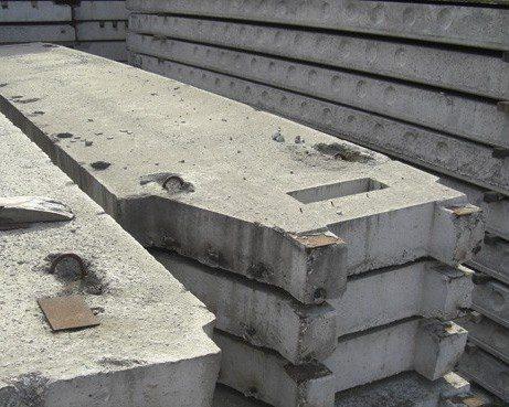 Пример балконных плит