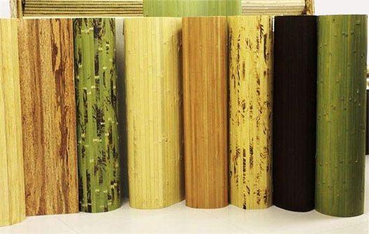 Бамбуковые обои существуют самых разных цветов
