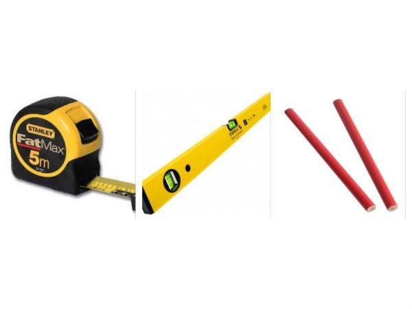 Без измерительного и разметочного инструмента сделать качественный пол не получится