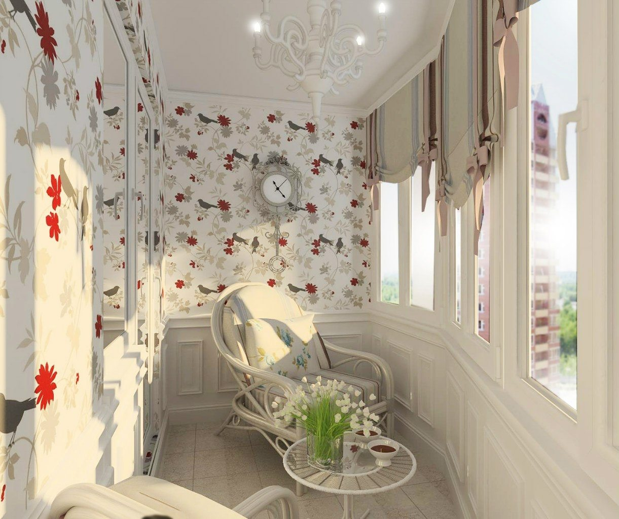 Идеи для оформления балконов и лоджий - Страница 3 Dizajn-balkona-v-kvartire