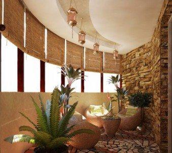 дизайн балконы