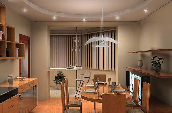 Всю увеличенную новую комнату следует выполнить в едином стиле, чтобы и сомнений не осталось, что когда-то это были два обособленных помещения